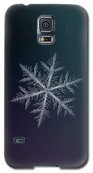 Snowflake Photo - Neon Galaxy S5 Case