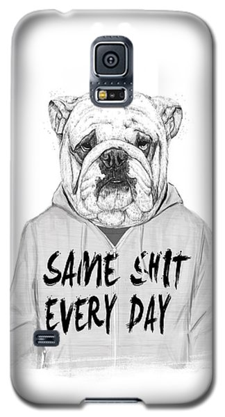 Same Shit... Galaxy S5 Case by Balazs Solti