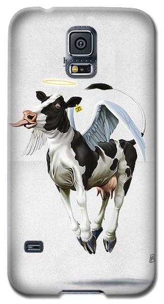 Holy Cow Galaxy S5 Case by Rob Snow