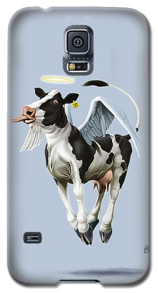 Holy Cow Colour Galaxy S5 Case
