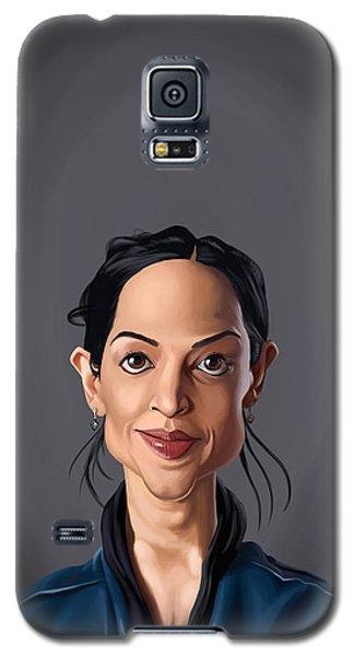 Celebrity Sunday - Archie Panjabi Galaxy S5 Case