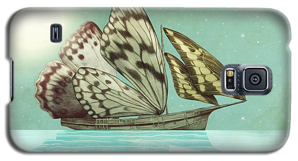 Butterfly Galaxy S5 Case - The Voyage by Eric Fan
