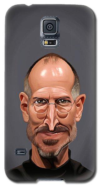 Celebrity Sunday - Steve Jobs Galaxy S5 Case by Rob Snow