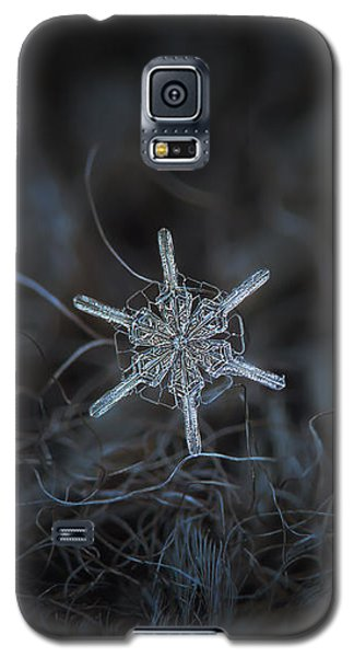 Snowflake Photo - Steering Wheel Galaxy S5 Case