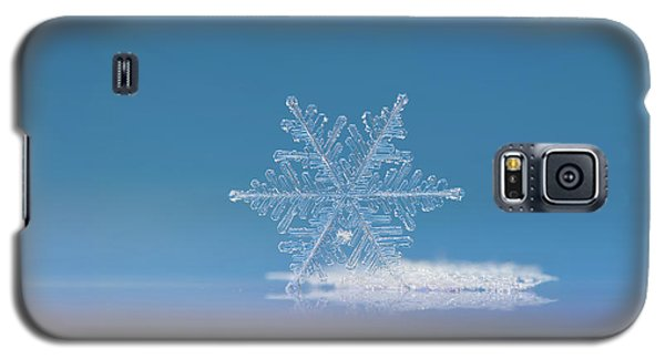 Snowflake Photo - Cloud Number Nine Galaxy S5 Case