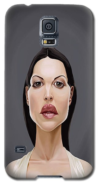 Celebrity Sunday - Monica Bellucci Galaxy S5 Case