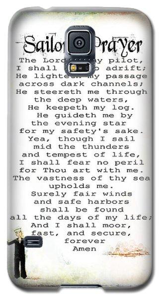 Sailor's Prayer Galaxy S5 Case