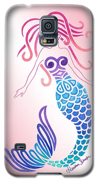 Tribal Mermaid Galaxy S5 Case