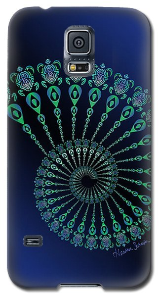 Tribal Turtle Spiral Shell Galaxy S5 Case