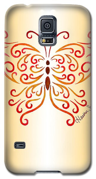Tribal Butterfly Galaxy S5 Case