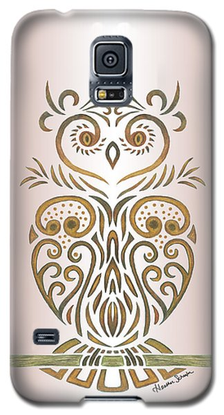 Tribal Owl Galaxy S5 Case