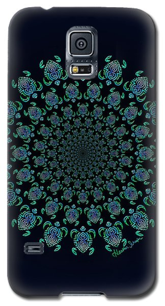 Tribal Turtle Tunnel Galaxy S5 Case