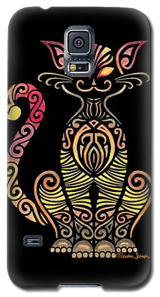 Tribal Cat Galaxy S5 Case