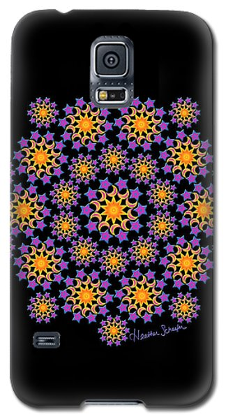 Sun Moon And Stars Galaxy S5 Case