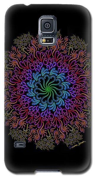 Splendid Spotted Swirls Galaxy S5 Case