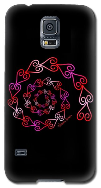 Spiral Of Hearts Galaxy S5 Case