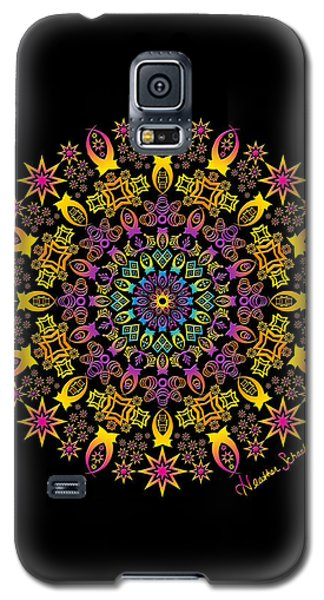 Semi-tribal Rotation Galaxy S5 Case