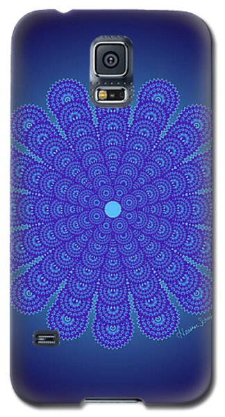 Blue Obsession Galaxy S5 Case