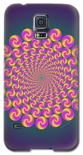 Circles Circus Galaxy S5 Case