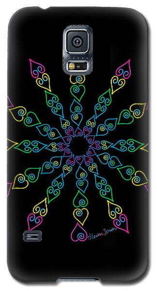 My Heart Flip Flops Galaxy S5 Case