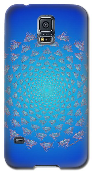 Tribal Hogfish Happenings Galaxy S5 Case
