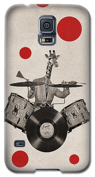 Drum Galaxy S5 Case - Animal19 by Francois Brumas