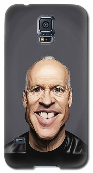 Celebrity Sunday - Michael Keaton Galaxy S5 Case