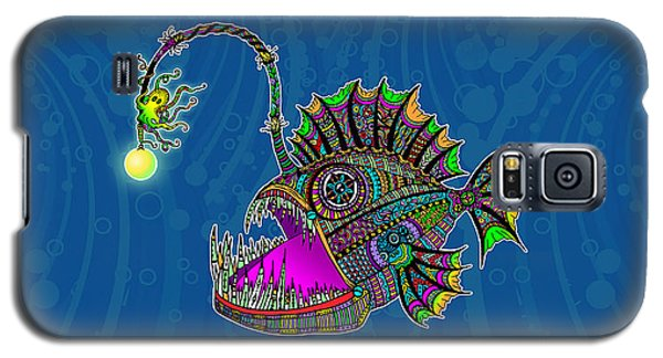 Electric Angler Fish Galaxy S5 Case