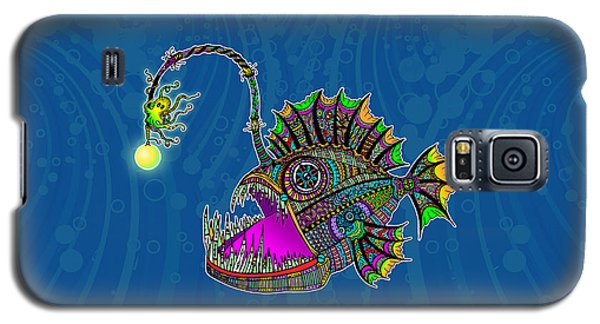 Electric Angler Fish Galaxy S5 Case by Tammy Wetzel