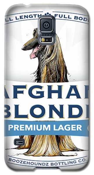 Afghan Blonde Premium Lager Galaxy S5 Case