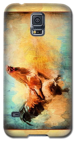 Buff Brahma Mrs. Darwin's Rooster  Galaxy S5 Case