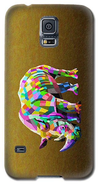 Wild Rainbow Galaxy S5 Case