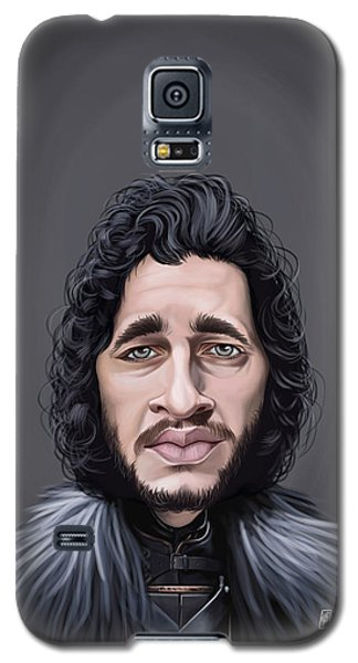 Celebrity Sunday - Kit Harington Galaxy S5 Case