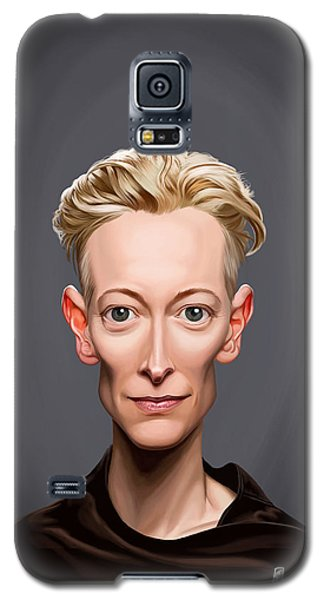 Celebrity Sunday - Tilda Swinton Galaxy S5 Case