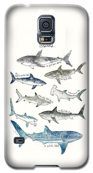 Whale Galaxy S5 Case - Sharks by Amy Hamilton