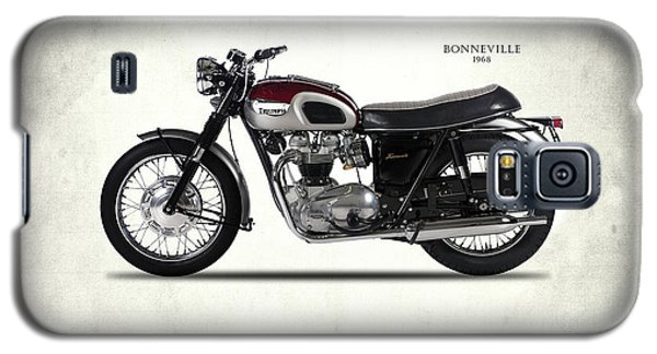 Triumph Bonneville T120 1968 Galaxy S5 Case by Mark Rogan