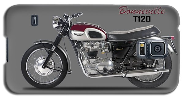 Transportation Galaxy S5 Case - Triumph Bonneville T120 1968 by Mark Rogan