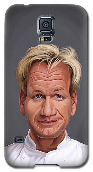 Celebrity Sunday - Gordon Ramsey Galaxy S5 Case