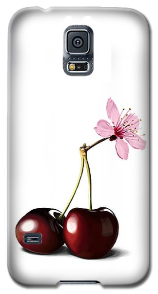 Cherry Blossom Galaxy S5 Case