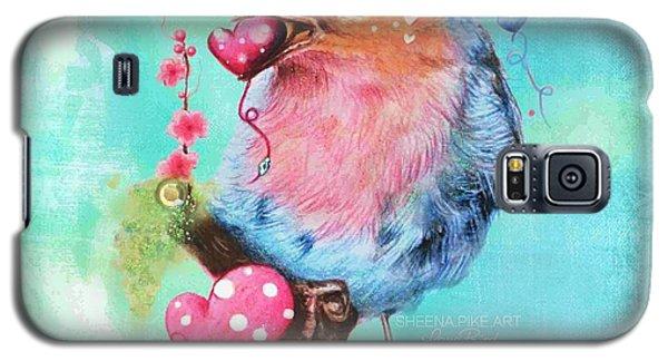 Love Bird Galaxy S5 Case by Sheena Pike