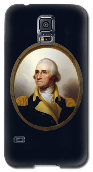 General Washington - Porthole Portrait  Galaxy S5 Case by War Is Hell Store