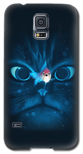 Cat Fish Galaxy S5 Case