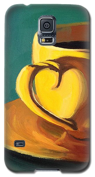 Yellow Java Galaxy S5 Case