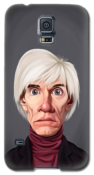 Celebrity Sunday - Andy Warhol Galaxy S5 Case