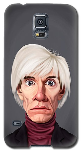 Celebrity Sunday - Andy Warhol Galaxy S5 Case