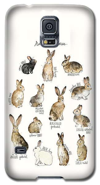 Rabbit Galaxy S5 Case - Rabbits And Hares by Amy Hamilton