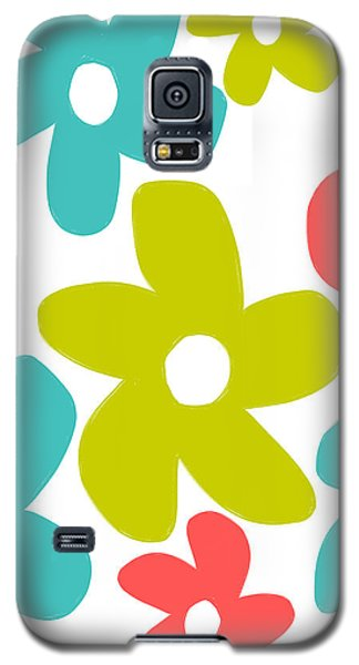 Galaxy S5 Case featuring the painting Oh Happy Day by Lisa Weedn
