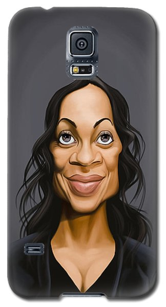 Celebrity Sunday - Rosario Dawson Galaxy S5 Case
