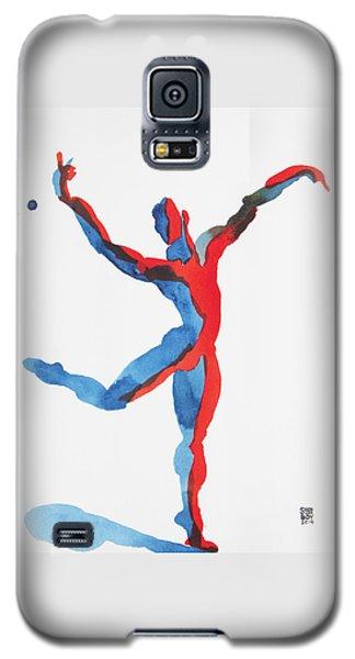 Ballet Dancer 3 Gesturing Galaxy S5 Case by Shungaboy X