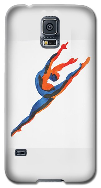 Ballet Dancer 2 Leaping Galaxy S5 Case by Shungaboy X
